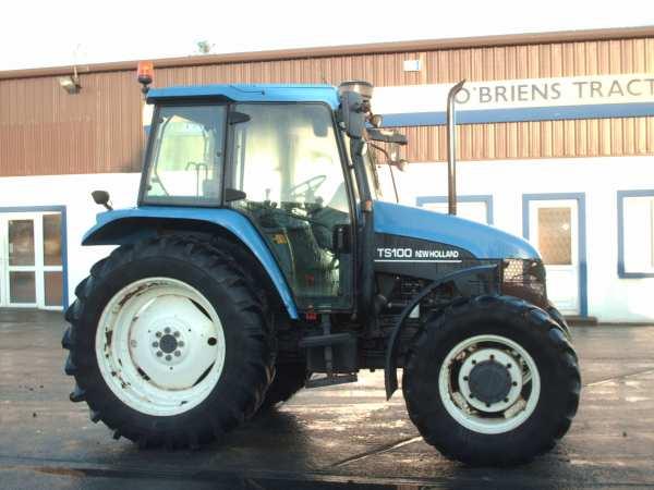 Super 2002 New Holland TS100 - O'Briens Tractors @NW_39