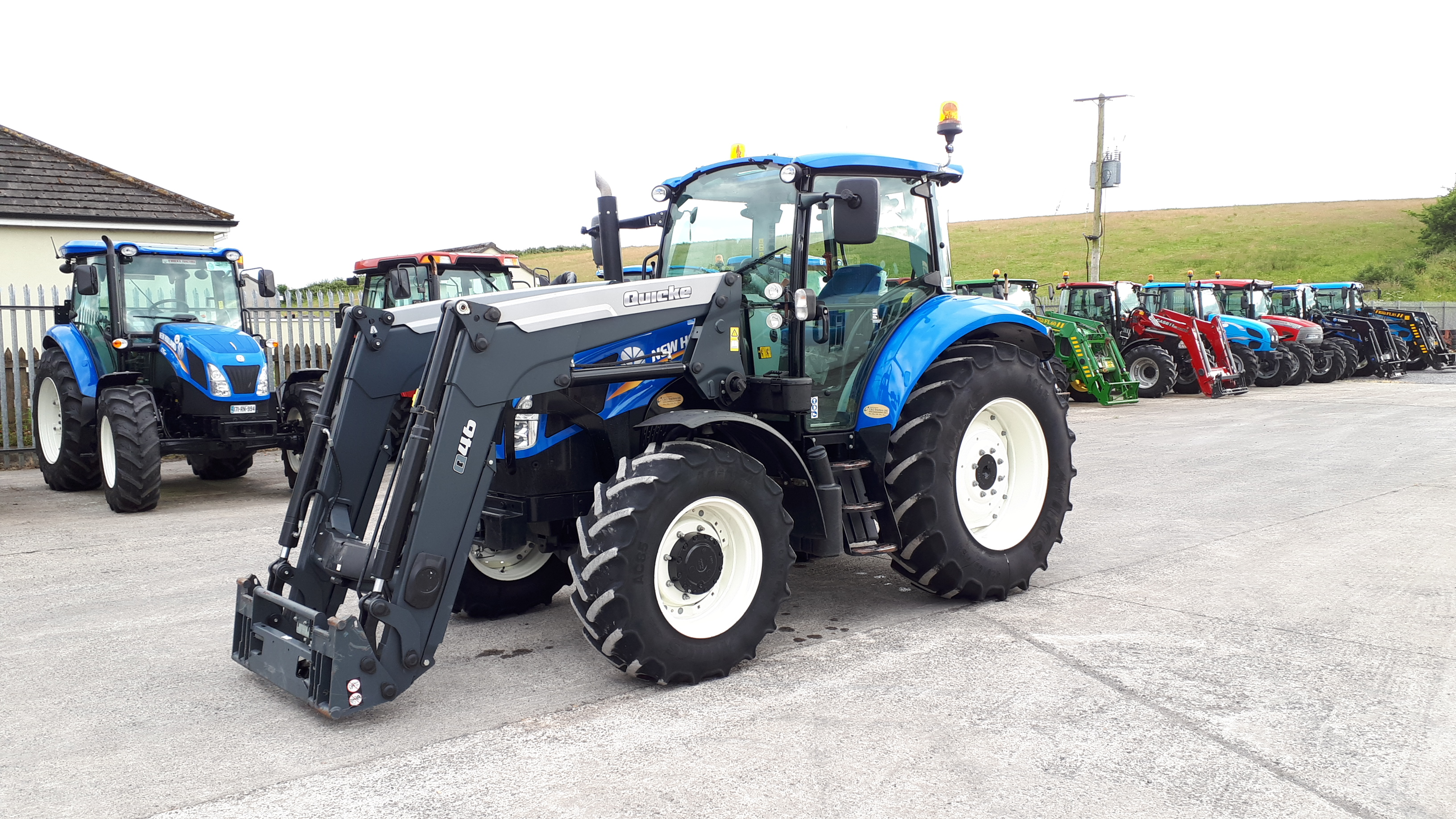 New Holland Tractor T5.105