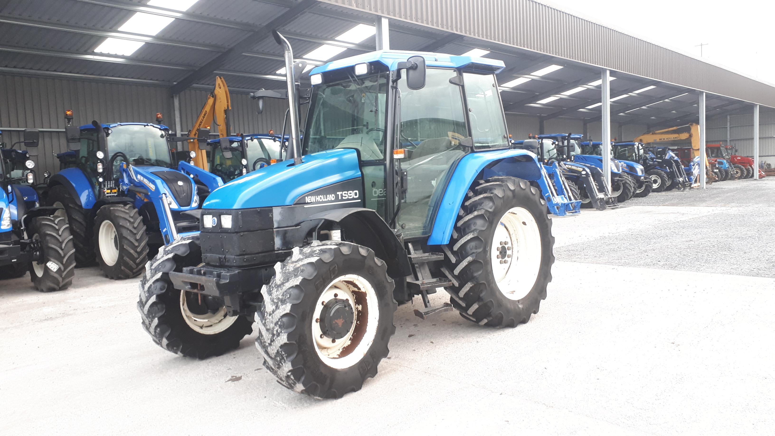 2003 New Holland TS90