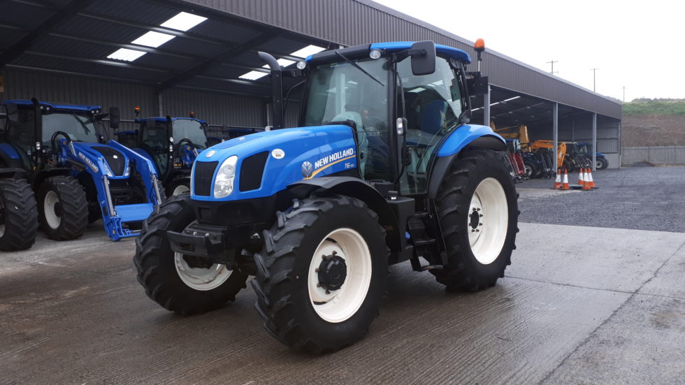 2013 New Holland T6.155
