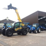 New Holland TH7.42 plus telehandler