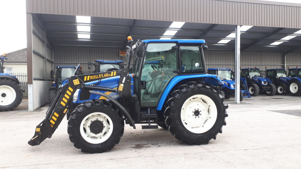 2012 New Holland T5050 4WD